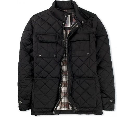Geaca Crew Clothing Ascot Black