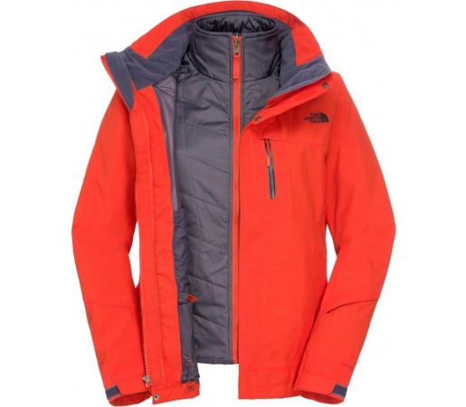 Geaca The North Face W Cheakamus Triclimate Orange