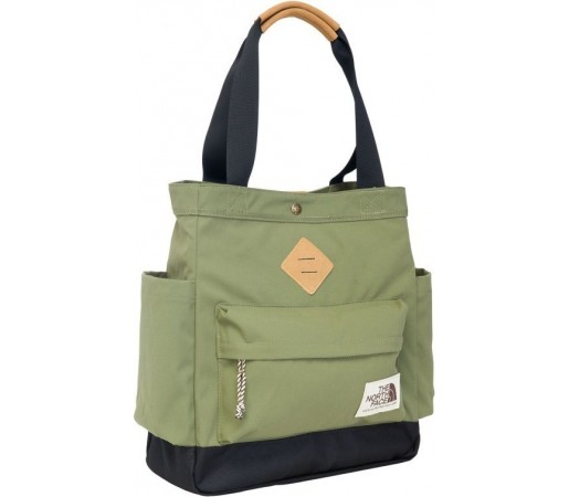 Geanta The North Face Four Point Tote Verde/Negru