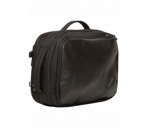 Geanta Bergans Switch Leather Balistic Neagra