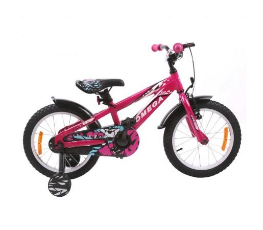 "Bicicleta Copii Omega Gerald 16"" 2019 Roz"