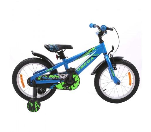 "Bicicleta Copii Omega Gerald 20"" 2019 Albastru"