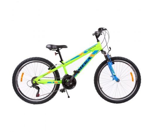 "Bicicleta Mountain Bike Copii Omega Gerald 24"" 2019 Verde"