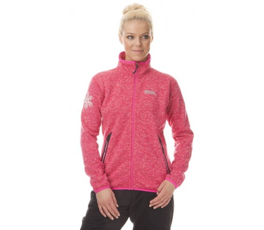 Jacheta Nordblanc GLORY Sweater Fleece Grapefruit
