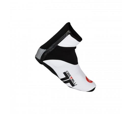 Husa pantofi Castelli Narcisista Alb/Negru