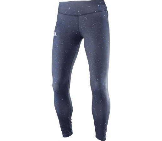 Pantaloni Salomon Elevate Long Tight W Bleumarin