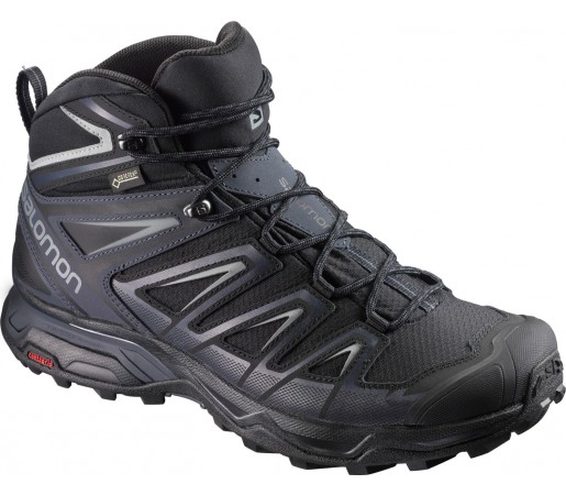 Ghete Barbati Hiking Salomon X Ultra 3 Mid GTX Negru / Gri