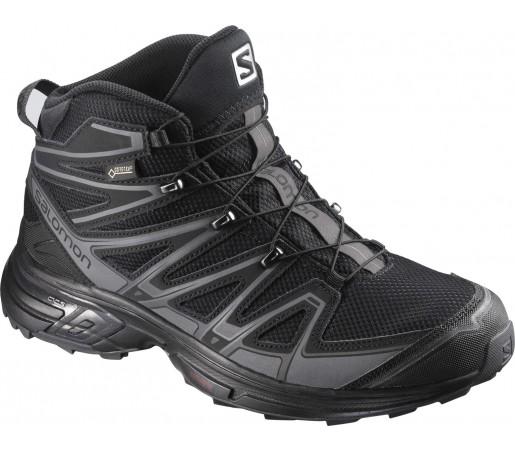 Incaltaminte Hiking Salomon X-Chase Mid GTX M Negru