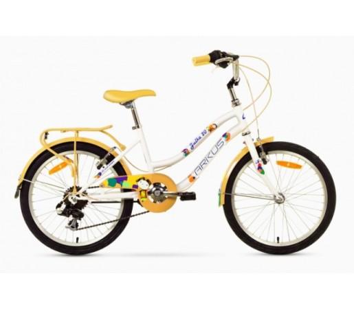 Bicicleta copii Arkus Julka 20 Alb/Galben 2016