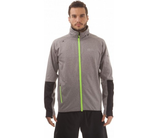 Geaca Nordblanc Kean Men's Powerfleece Running Gri