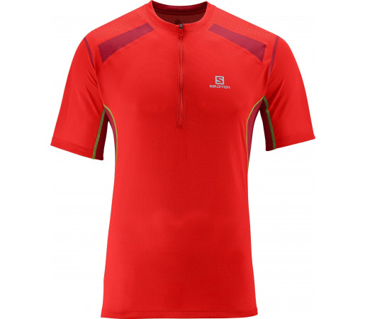 Tricou Salomon Ultra Trail M Red