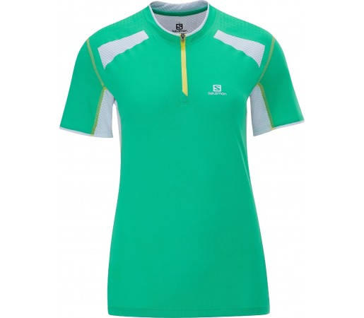 Tricou Salomon Ultra Trail W Green