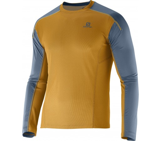 Bluza Salomon Apogee LS M Yellow