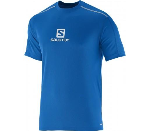 Tricou Salomon Stroll Logo Tee M Albastru