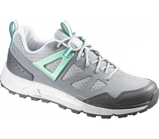 Pantofi Salomon Instinct Pro W Gri/Cyan