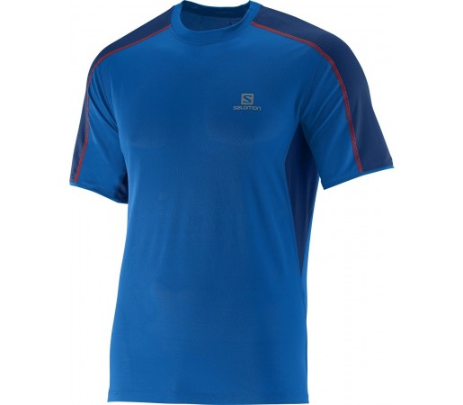 Tricou Salomon Trail Runner Tee M Albastru