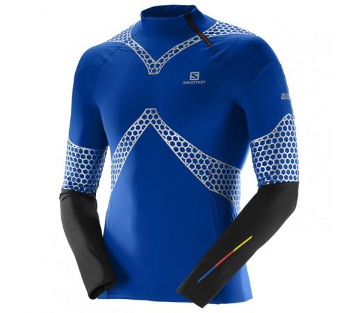 Bluza Salomon M S-Lab Exo Jersey Albastra