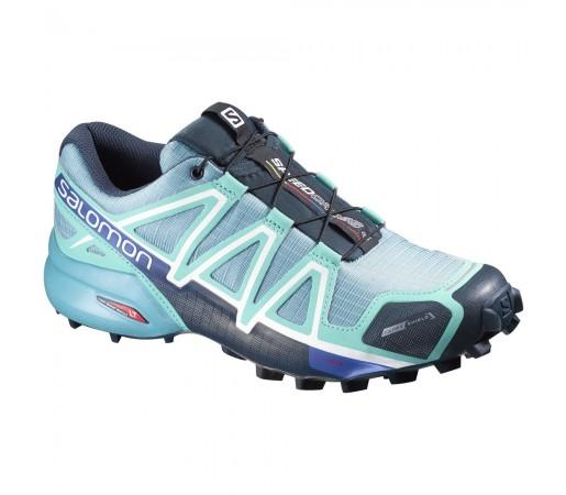 Incaltaminte alergare Salomon Speedcross 4 CS W Albastru/Bleu