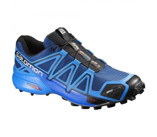 Incaltaminte alergare Salomon Speedcross 4 CS M Albastru/Negru