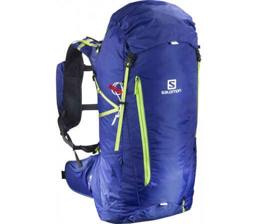 Rucsac Hiking Salomon Peak 40 Albastru/Lime