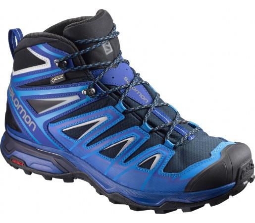 Incaltaminte Hiking Salomon X Ultra 3 Mid GTX M Albastru / Bleumarin