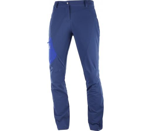 Pantaloni Hiking Salomon Wayfarer Utility W Bleumarin