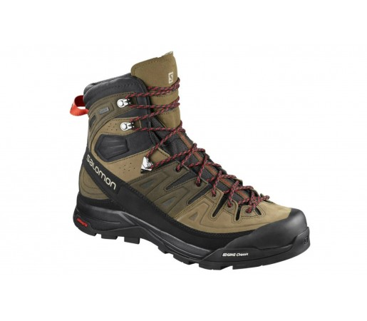 Ghete Barbati Hiking Salomon X Alp High LTR GTX Maro / Negru