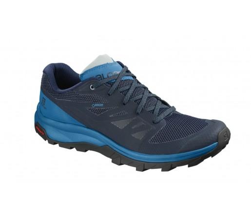Incaltaminte Barbati Hiking Salomon Outline GTX Bleumarin / Albastru