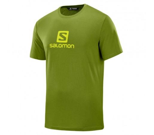 Tricou Barbati Salomon Coton Logo Verde