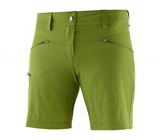 Pantaloni scurti Femei Hiking Salomon Wayfarer Verde