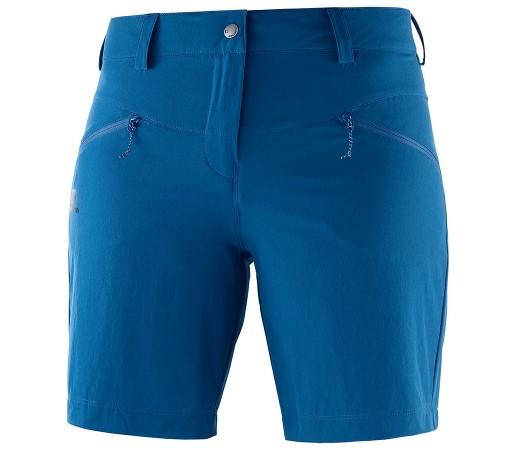 Pantaloni scurti Femei Hiking Salomon Wayfarer LT Albastru