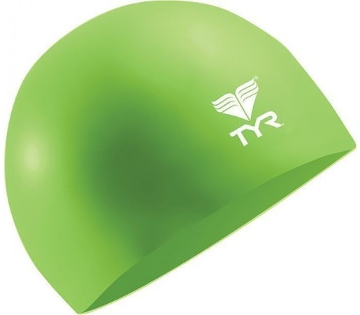 Casca inot Tyr Wrinkle Free Silicon Junior verde
