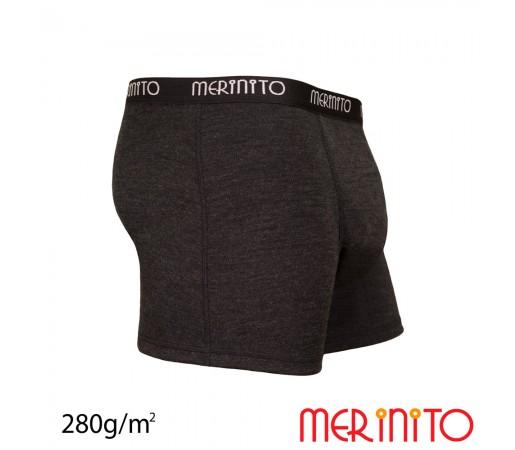 Lenjerie Barbati Merinito Heavy Duty Boxer Gri
