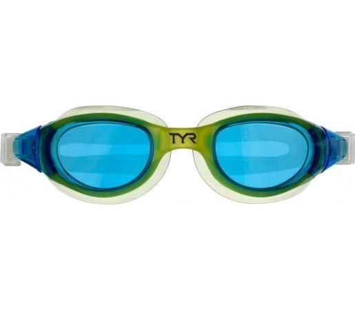 Ochelari inot Tyr Technoflex 4.0 Junior bleu/verde 2013