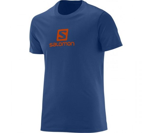 Tricou Salomon M Logo Bleumarin