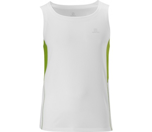 Maieu Salomon Trail Tank M White 2013