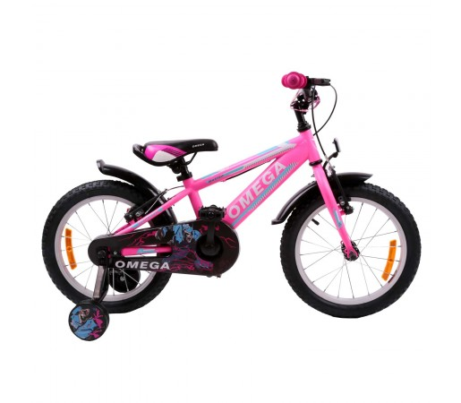 "Bicicleta Copii Omega Master 16"" 2019 Roz"
