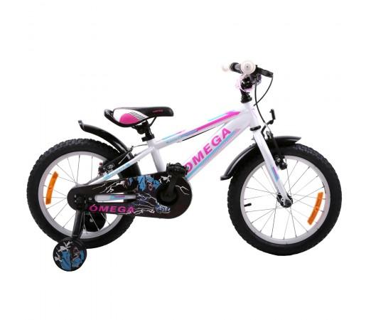 "Bicicleta Copii Omega Master 20"" 2019 Alb"