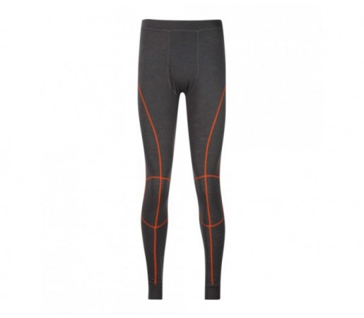 Pantalon first-layer Trekmates M Merino Contrast Gri/Portocaliu