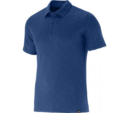 Tricou Salomon Mountain Polo M Albastru