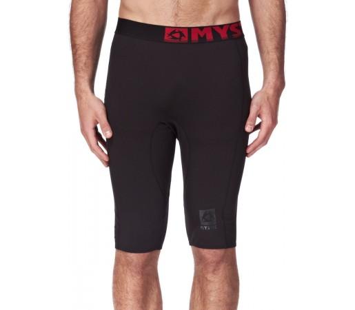 Pantaloni First Layer Mystic Bipoly M Short Pant Black/Red