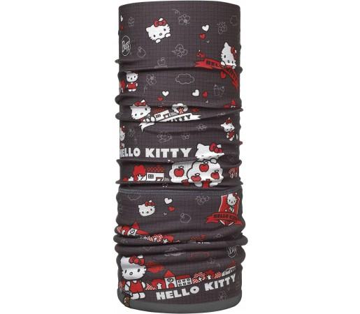 Neck Tube Buff Polar Hello Kitty Grid