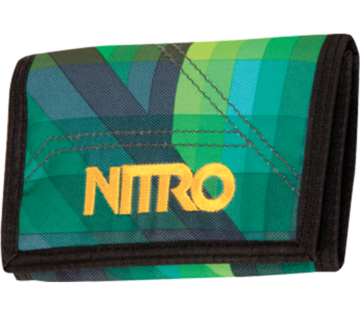 Portofel Nitro Wallet Geo Verde