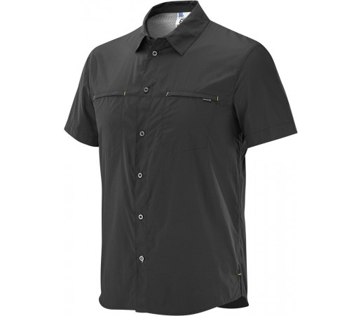 Camasa Salomon Radiant SS Shirt M Neagra