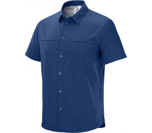 Camasa Salomon Radiant SS Shirt M Albastru Inchis