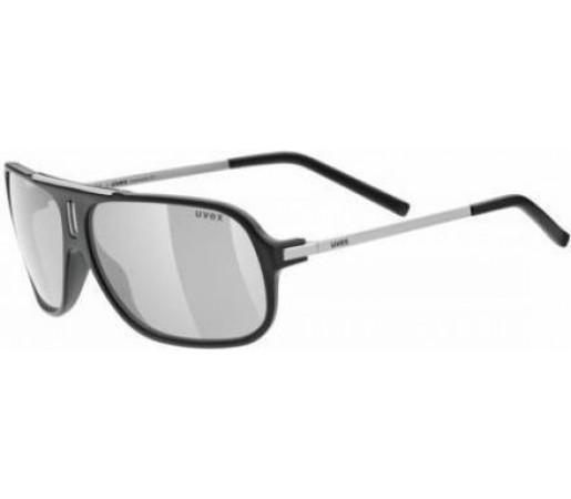 Ochelari soare Uvex Oversize 21 Black- Silver