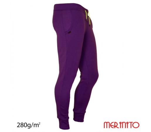 Pantaloni Merinito Jogger M Mov