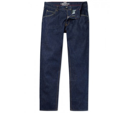 Pantaloni Crew Clothing Spencer Slim Fit Indigo