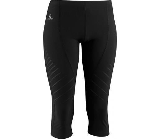 Pantaloni Salomon Endurance 3/4 Tight W Black