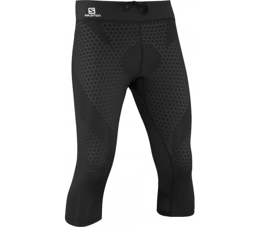 Pantaloni Salomon Exo 3/4 Tight M Black 2013